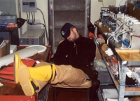 Nap in the lab. SOFeX. Jan. 2002