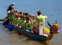 "Algatech Dragon boat team ""AlgaDrak"" 2014"